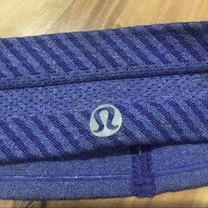 lululemon headband blue and purple
